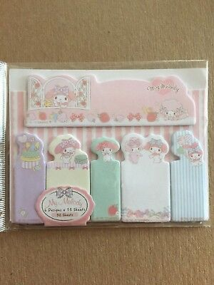MY MELODY Sticky Notes Kit CUTE! FREE Shipping!
