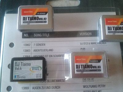 KARAOKE Magic Sing Songchip DJ Tiamo Vol. 4, 75 Englische Hits