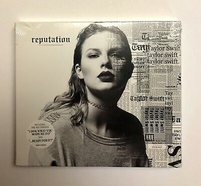 BRAND NEW FACTORY SEALED reputation by Taylor Swift (CD, Big Machine Records)