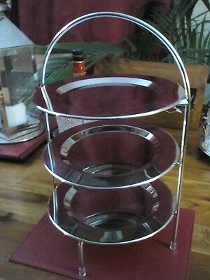Vintage Style Three Tier Cake Stand-brand new