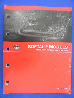 Harley Davidson 2006 SOFTAIL Models PARTS CATALOG  99455-06A