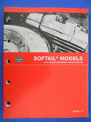Harley Davidson 2010 SOFTAIL Models PARTS CATALOG  99455-10