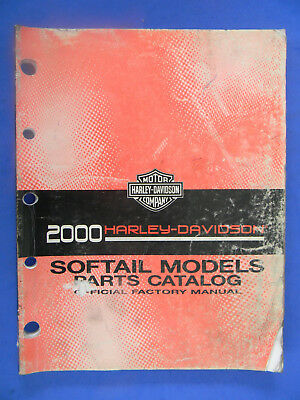 Harley Davidson 2000 SOFTAIL Models PARTS CATALOG  99455-00
