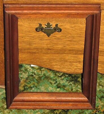 Antique Vintage Old Solid Walnut Deep Picture Frame..Unique..Beautiful