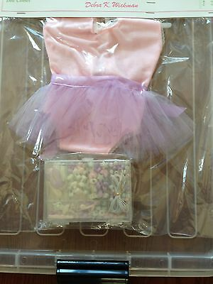 """NEW American Girl Size 18"""" Doll  2pc Ballet Set w/Beads Doll Dreams USA"""