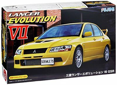 Fujimi ID-179 1/24 Mitsubishi Lancer Evolution VII GSR Car Plastic Model New