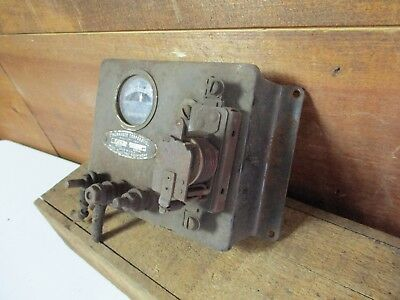 ANTIQUE Wincharger 37 Controls Amp Gauge Wind Generator Part VINTAGE #2