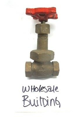 "Stockham Disc Fig B-22 1/8"" Npt Globe Valve, 150 Psi Cwp, Bronze"