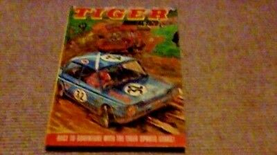 TIGER ANNUAL 1972 1st UK ONLY H/B Rally Cars Mini Cooper Roy Of The Rovers Sport