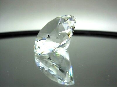 Retired SWAROVSKI Crystal Mini Diamond Chaton Collectible Paperweight