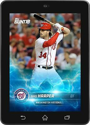 Topps BUNT Bryce Harper LIGHTNING Offseason Base 2018 [DIGITAL CARD]