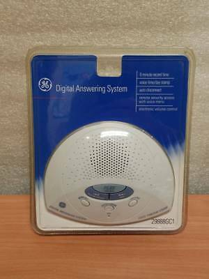 NEW GE Digital Land Line Answering Machine System With 6 Minute Recording Time
