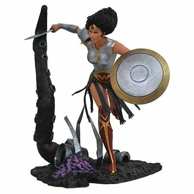 DC Comic Galerie Dark Knights Metall Figure Wonder Woman Statuen Pre-Order März