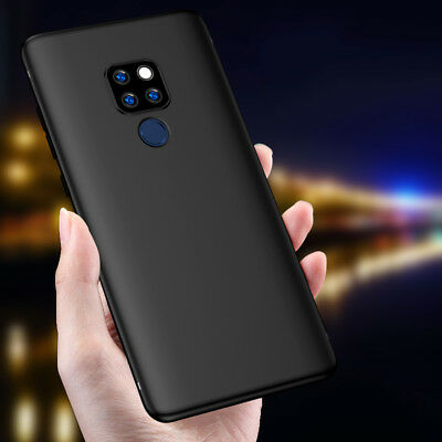 For Huawei Mate 9 10 20 Lite Pro Ultra Slim Soft Silicone TPU Back Case Cover