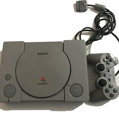 Official Sony PlayStation 1 PS1 Console And Remote Only