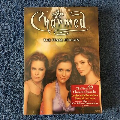 Charmed: The Complete Eighth and Final Season (DVD, 2007, 6-Disc Set) Brand New