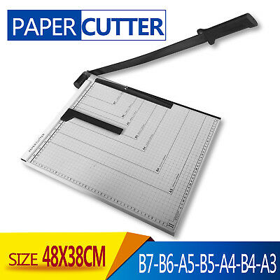 Premium Heavy Duty A3 To B7 Size Paper Cutter Guillotine Trimmer high quality Au