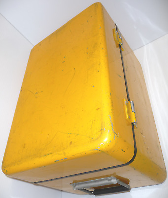 """Large 18""""x12""""x12"""" Drawn Aluminum Gasketed Scientific Instrument Project Case DIY"""
