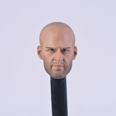 """1/6 Scale Jason Statham Head Sculpts Model Toys A-01 Man Carving Model For 12"""" M"""