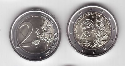 Italy - New Issue Bimetal 2 Euro Unc Coin 2018 Year Ministero Della Salute Fish