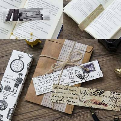 30Pcs/set Retro Collection Bookmark Paper Bookmarks Film Bookmark Message Card