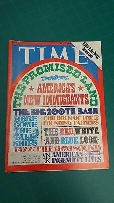 TIME SPECIAL BICENTENNIAL Issue Sept  26, 1789 - $5 00 | PicClick