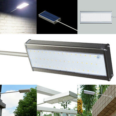 48 LED Solar Power Motion Sensor Wall Light Outdoor Path Lamp Garden Waterproof