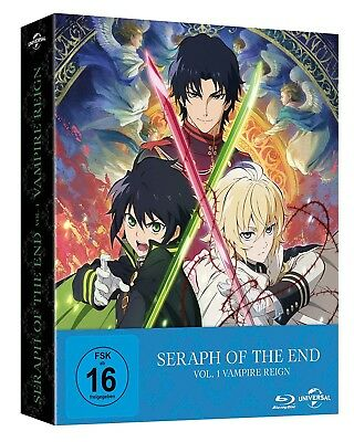 *NEU* Seraph of the End: Vampire Reign (Ep.1-12) Vol.1 Limited Edition Blu Ray
