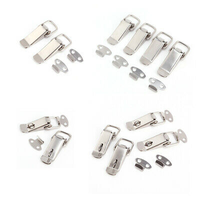 Boxes Cases Chests Spring Draw Toggle Steel Stainless Latch Catch Hasp 57mm Long