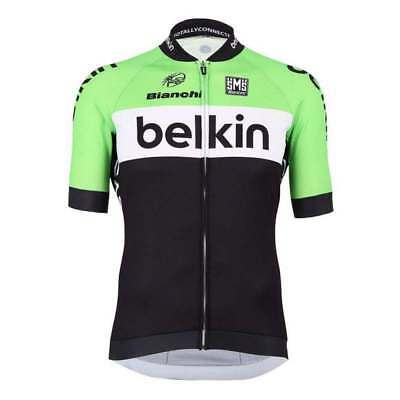 86cd245384df MAGLIA SANTINI BELKIN Replica Nuovo Procycling Point Ciclismo MTB ...
