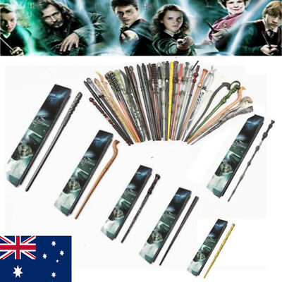 Harry Potter Magic Wand Stick Hermione Dumbledore Cosplay Wands Props Gift Box