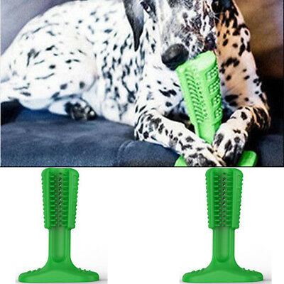 Silica Gel Doggy Toothbrush Brushing Stick For Cleaning Hygiene Brushes