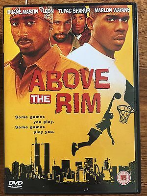 Tupac 2Pac Shakur Marlon Wayans Above The Rim ~ Urban Baloncesto Drama GB DVD