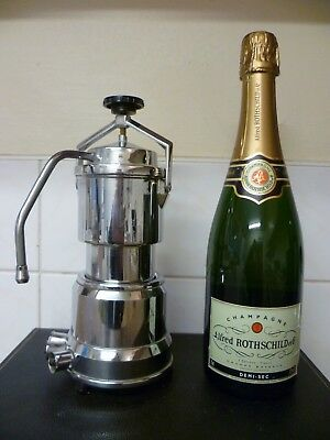 A VINTAGE FRENCH ELECTRIC  MILK FROTHER By 'NORMANDIE EXPRESS' ESPRESSO MAKER