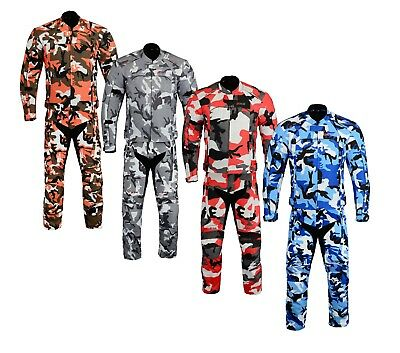 CAMO Waterproof Motorbike Motorcycle Jacket Trouser Thermal Riding Suit Armour