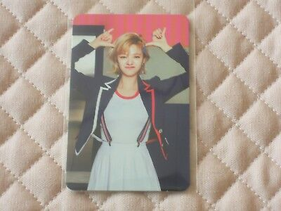 (ver. Jeongyeon) TWICE SIGNAL 4th Mini Album SIGNAL ver. Photocard JYP KPOP