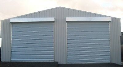Steel Framed Building Classic Double Door Car Storage Shed Vehicle Garage Barns