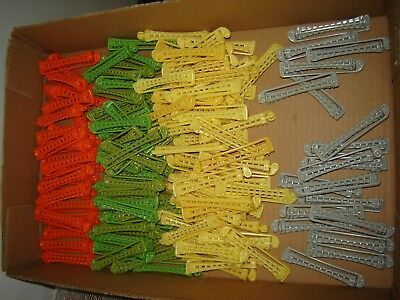 Lot of 138 Vintage Toni Plastic Perm Swing-Arm Curling Rods