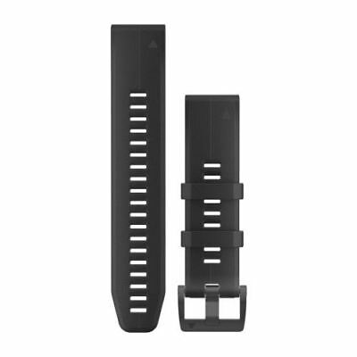 GARMIN Quickfit Black Silicone Replacement Band 010-12740-00