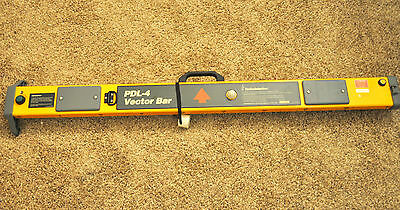 Radiodetection PDL-4 Cable Pipe Utility Locator Vector Bar pdl 4