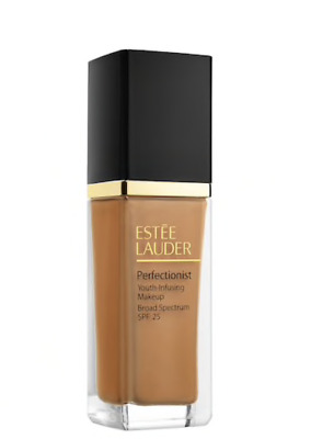 NEW ESTÉE LAUDER Perfectionist Youth-Infusing Serum Makeup SPF 25 5W2 Rich Caram