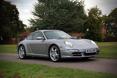Exceptional 2004 Porsche 997 C2 3.6 manual – FSH, 62K miles and borescoped