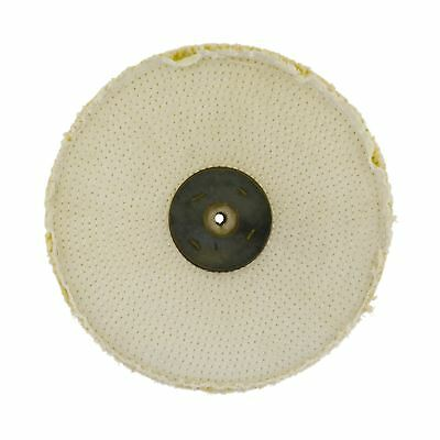 "Coarse Sisal Fast Cut Buffing Polishing Mop 10"" x 1"" 2 Section 1st Stage Metal"