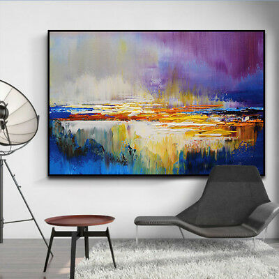 YA1034 Modern 100% Hand-painted abstract oil painting on canvas Color art