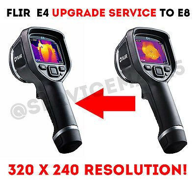 FLIR E4 E5 E6 CAMERA UPGRADE TO E8 SERVICE 320x240 Resolution Menu for WIN10/MAC