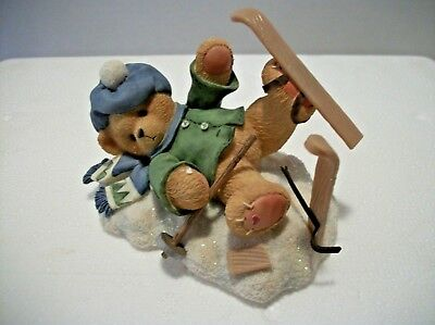 Spencer I'm Head Over Skis For You Boxed Cherished Teddies by ENESCO