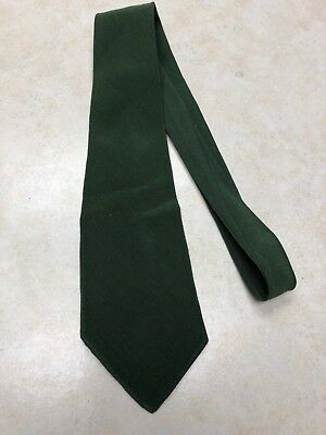 Early Official Boy Scout Green Necktie