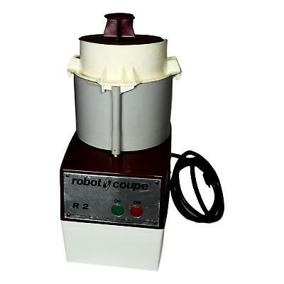 Robot Coupe R2 Commercial Food Processor with 3 Blades