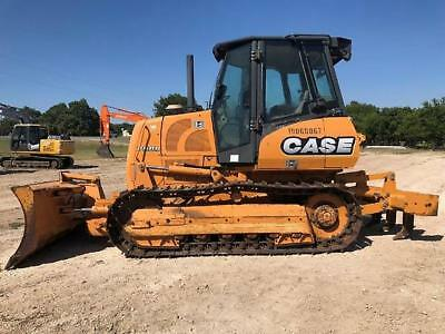 2012 Case 750L Crawler Dozer with Rippers