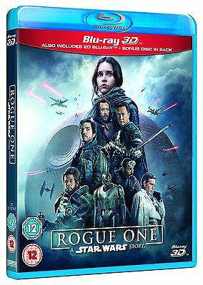 Rogue One: A Star Wars Story (3D + 2D Blu-ray, 3 Discs, Region Free) *NEW*